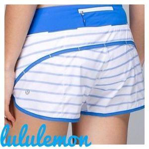 {Lululemon} deauville pipe dream like new shorts